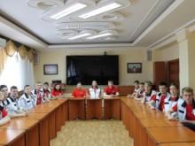 Встреча участников Национального чемпионата «Молодые профессионалы» (WorldSkills Russia)